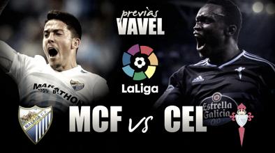 Previa Málaga CF - Celta de Vigo: con la cabeza en Old Trafford