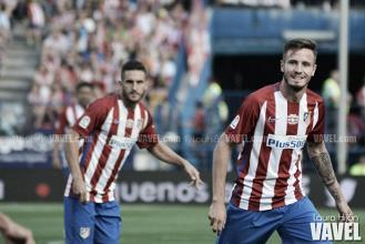"""Saúl: """"Si Diego Costa viene al Atlético, será bien recibido""""."""