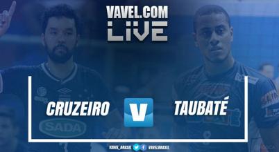 Resultado Cruzeiro x Taubaté na final da Superliga Masculina de Vôlei 2016/17 (3-1)