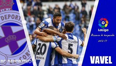 Resumen temporada RC Deportivo 2016/17: la tranquilidad inalcanzable