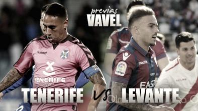 Previa CD Tenerife - Levante UD: Los blanquiazules, a seguir la estela granota