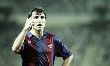 El Barça Legends se medirán al Hristo Stoichkov & Friends