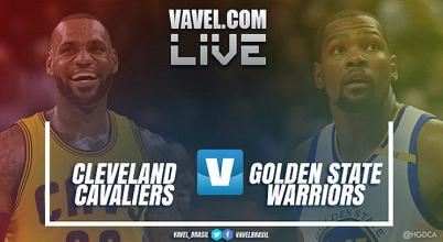 Jogo Cleveland Cavaliers x Golden State Warriors AO VIVO hoje na NBA