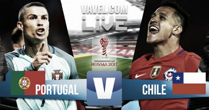 Portugal vs Chile en vivo y en directo online en Copa Confederaciones 2017