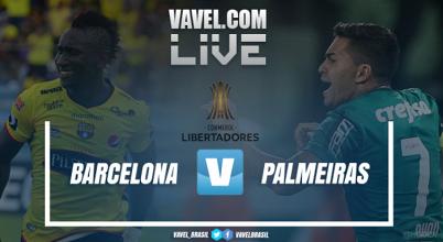 Barcelona x Palmeiras pela Copa Libertadores (1-0)