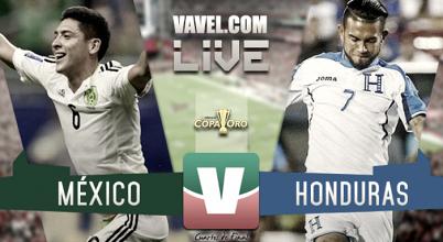 Resultado y gol del México (1-0) Honduras