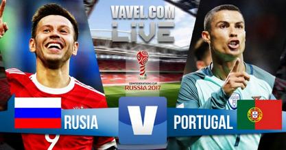 Resultado Rusia vs Portugal en Copa Confederaciones 2017