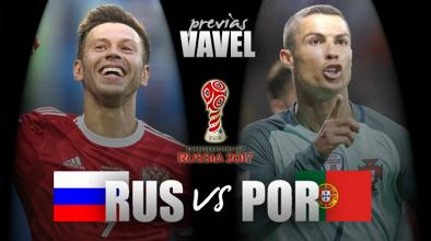 Previa Rusia - Portugal: los lusitanos quieren derrotar al anfitrión
