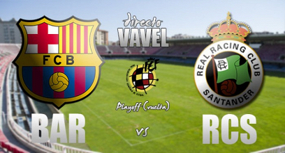 Resultado Barcelona B- Racing de Santander final playoffs Segunda B