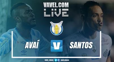 Resultado Avaí x Santos pelo Campeonato Brasileiro 2017 (0-0)