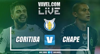 Resultado Coritiba x Chapecoense no Campeonato Brasileiro 2017 (2-0)