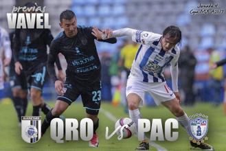 Previa Querétaro - Pachuca: por el liderato del grupo