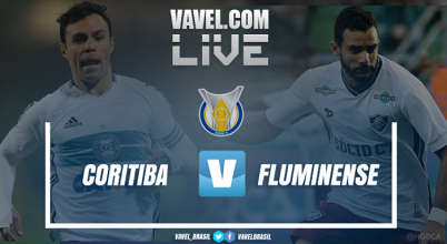 Resultado e gols de Coritiba x Fluminense no Campeonato Brasileiro 2017 (1-2)