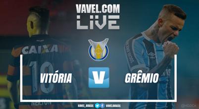 Resultado Vitória x Grêmio pelo Campeonato Brasileiro (1-3)