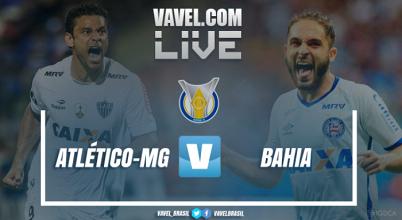 Resultado Atlético-MG x Bahia hoje no Campeonato Brasileiro 2017 (0-2)