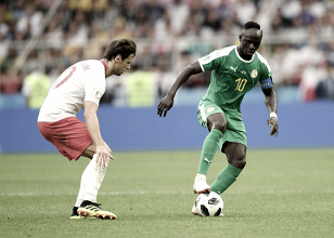 Senegal sorprendió a Polonia en la Copa del Mundo