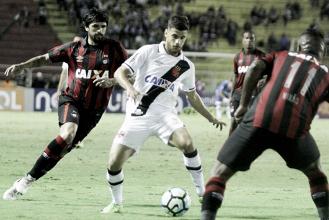Atlético-PR bate Vasco da Gama em jogo equilibrado e volta a vencer no Brasileiro