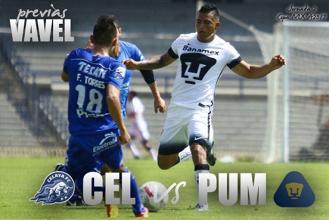 Previa Celaya - Pumas: el debut de los felinos en la Copa