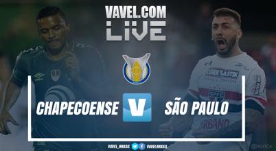 Resultado Chapecoense x São Paulo peloCampeonato Brasileiro 2017 (2-0)