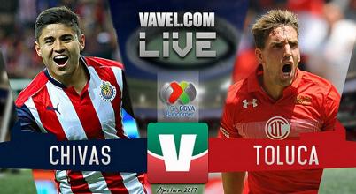 Resultado y goles del Chivas 0-0 Toluca de la Liga MX 2017