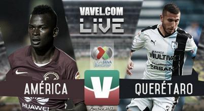 Resultado y goles del América 0-1 Querétaro de la Liga MX 2017