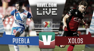 Resultado y goles del Puebla 1-1 Xolos en Liga MX 2017