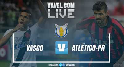 Resultado Vasco 0x1 Atlético-PR pelo Campeonato Brasileiro 2017