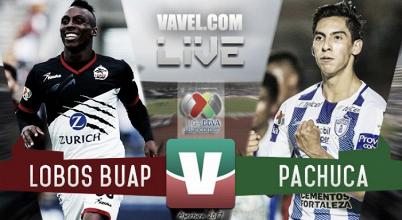 Resultado y goles del Lobos BUAP 3-2 Pachuca de la Liga MX 2017