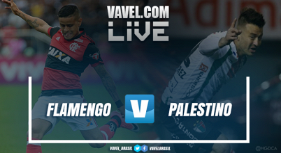 Resultado Flamengo x Palestino pela Copa Sul-Americana 2017 (5-0)