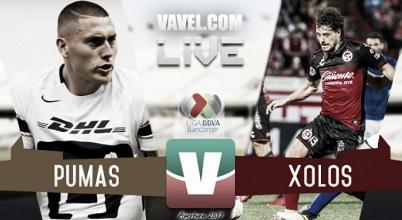 Resultado Pumas vs Xolos en Liga MX (0-1)