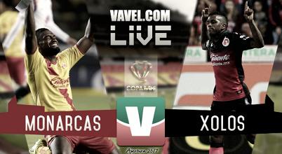 Resultado y goles del Xolos vs Monarcas (1-1)