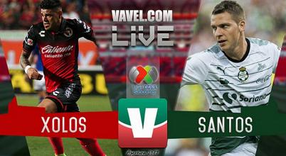 Resultado y goles del Xolos 2-0 Santos de la Liga MX 2017