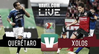 Querétaro vs Xolos Tijuana en vivo online en Liga MX 2017 (0-0)