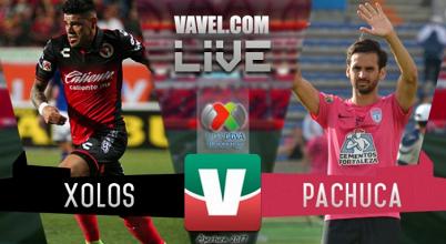 Resultado y goles del Xolos Tijuana 2-1 Pachuca de la Liga MX 2017