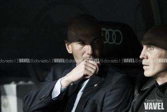 """Zinedine Zidane: """"Tuvimos 27 ocasiones de gol y no quiso entrar"""""""