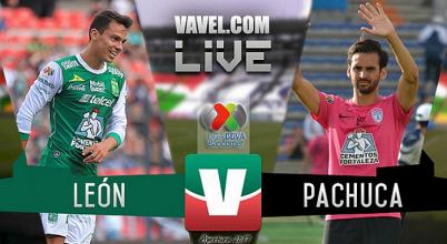 Resultado y goles del León 3-1 Pachuca de la Liga MX 2017