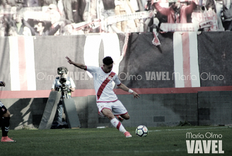 Álex Moreno, 'MVP' del Zaragoza - Rayo Vallecano