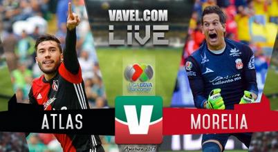 Resultado y goles del Atlas 0-1 Monarcas de la Liga MX 2017