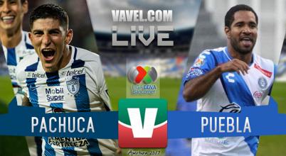 Resultado y goles del Pachuca 1-0 Puebla en Liga MX