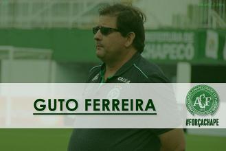 Guto Ferreira, o primeiro técnico a comandar Chapecoense em uma partida internacional