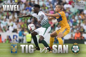 Previa Tigres - Santos: el campeón se presenta ante su gente