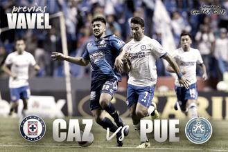 Previa Cruz Azul – Puebla: hora de retomar la senda del triunfo