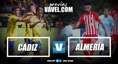Previa Cádiz CF - UD Almería: Arranca la temporada 2018/19 en Carranza
