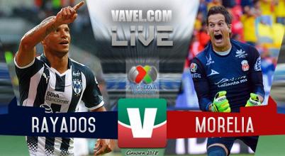 Resultado y goles de Monterrey vs Monarcas en Liga MX (1-1)