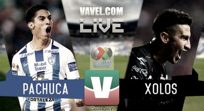 Resultado y goles del partido Pachuca vs Xolos en Liga MX 2018 (2-0)
