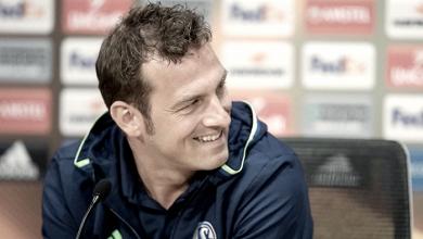 """Weinzierl: """"Nuestro objetivo es conseguir un buen resultado para el partido de vuelta en casa"""""""