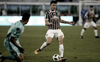 Do 'quase-gol' às lágrimas: Ibañez brilha, se emociona e arranca elogios de Abel Braga