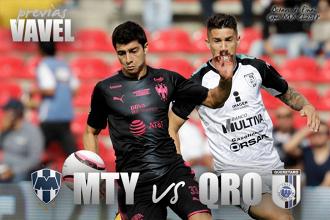 Previa Monterrey – Querétaro: inicia la verdadera defensa del titulo