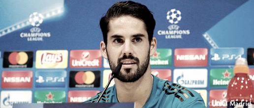 """Isco: """"Jugar en el Madrid no es fácil, te lo tienes que ganar, ya que están los mejores jugadores del mundo"""""""