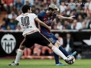 El Barcelona, un duro rival en Mestalla